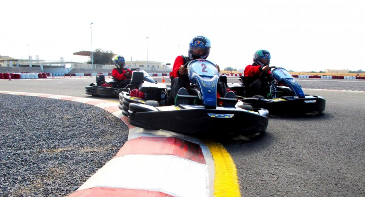 RAK Track Go Karting Racing